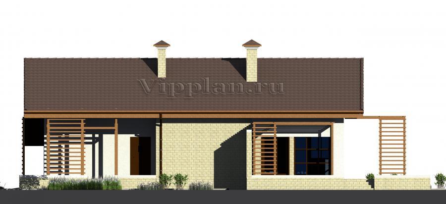 Итого: руб. Проект небольшого одноэтажного дома из газоблоков